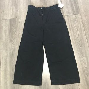 We the Free/FP NWT crop wide leg high rise pants